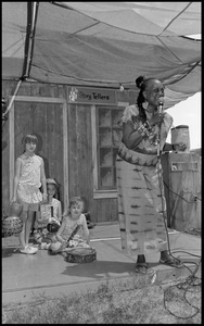 Njoki McElroy Storytelling with African Instruments 25th Annual Texas Folklife Festival