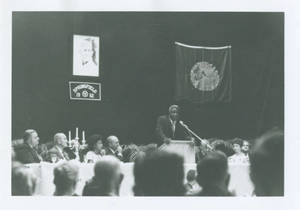 Jackie Robinson at Stagg Dinner (1962)