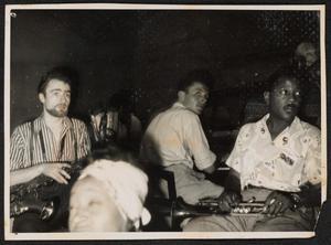 Jean-Claude Fohrenbach, Inez Cavanaugh, Roy Eldridge, and Raymond Fol