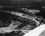 C.C.C. Work Camp at T.O. Fuller State Park, Aerial View