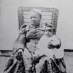 Caddie Morris & child