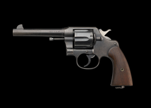 M1917 Revolver issued by US Army during WWI to Charles H. Houston