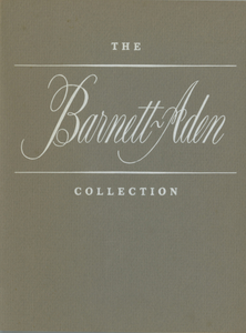 Barnett-Aden Collection Exhibition records