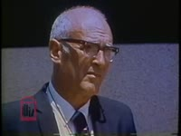 WSB-TV newsfilm clip of Joseph W. Sargis speaking about allegations against police officers in Columbus, Georgia, 1971 June
