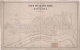 Map of the city of Saint Paul : capital of Minnesota