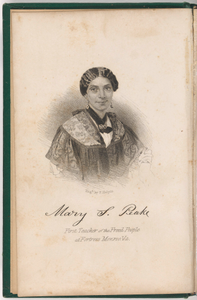Mary S. Peake, the Colored Teacher at Fortress Monroe