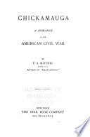 Chickamauga, a romance of the American Civil War