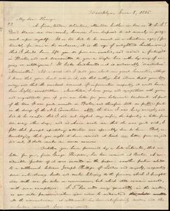 Letter from William Lloyd Garrison, Brooklyn, [Conn.], to Henry Egbert Benson, June 8, 1836