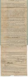 Agreement for Deed between Dana A. Dorsey and Edgar F. Pomar