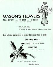 Circular promoting Mason's Flowers, 710 Union, [St. Louis, Mo.], 1968-1979