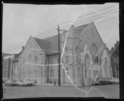 Exterior view of the Metropolitan African Methodist Episcopal Church, 3000 Samuel Shepard Drive.