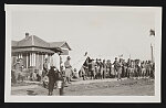 R.C. canteen tents and some hungry soldiers, Elaine, Ark., race riot