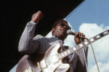 New Orleans Jazz Festival, B.B. King and others, 1972.(Box 14)