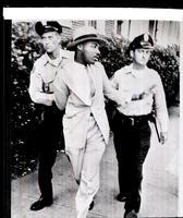 Police arrest Dr. King for loitering.