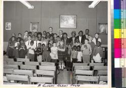 A Sunday School group