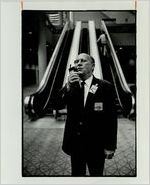 Ben Rains, World Congress Center Security Chief, December 5, 1982