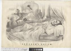 """Abraham's dream! - """"Coming events cast their shadows before""""."""