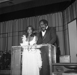 Man and Woman on Stage, Los Angeles, 1978