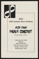 Jazz Camp Finale Concert