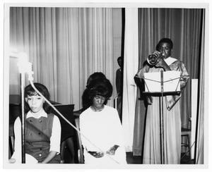 Charles McKinney Playing Trumpet