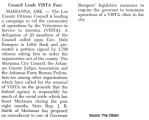 Council Leads VISTA Foes