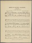 Down in sunny Alabama (Angeline)