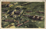 Aerial View Of Veterans' Administration, Tuskegee, Alabama