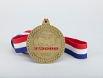Honorary Member medal awarded by the Formula 5000 Registry presented to Leonard W. Miller, 2009
