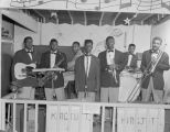 The King Tutt Band performing at the American Veterans Club at 174 Lee Street in Montgomery, Alabama.