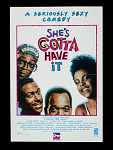 She's Gotta Have It Movie Poster