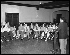 Heman Sweatt Case - Student Organization Meeting