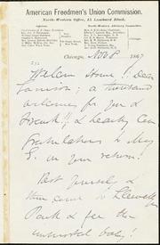 Letter to Garrison] [manuscript