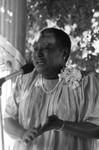 Esther Rolle speaking at a 100 Black Men event, Los Angeles, 1985