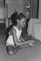 "Blues Singers: Clarksdale, Miss. """"Pine Top"""" Johnson, Jasper Love, Johnson children dancing (BSP N-68 #135)"