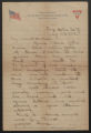 Letter: Wiley P. Killette to Mother, July 23, 1918