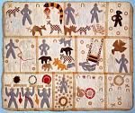 1885 - 1886 Harriet Powers's Bible Quilt