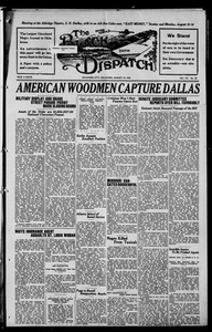 The Black Dispatch (Oklahoma City, Okla.), Vol. 7, No. 36, Ed. 1 Thursday, August 10, 1922