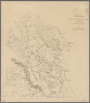 Henrico Co. Virginia with additions showing the defensive lines and works of Richmond