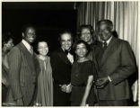 Ben Hooks with Ruby Dee, Ossie Davis, and others