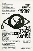"M4TF: Poster: ""The Truth Demands Justice"""