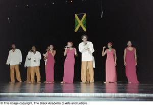 Actors of the Ashe Caribbean Performing Arts Ensemble Ashe Caribbean Dance