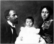 W.E.B. Du Bois and family