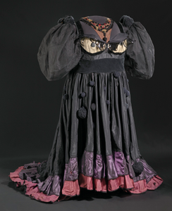 Costume gown and petticoat for Evillene in The Wiz on Broadway