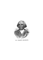 The life of Rev. Robert Anderson born the 22d day of February, in the year of Our Lord 1819, and joined the Methodist Episcopal Church in 1839