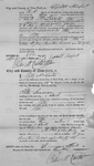 Certificate by City and County of New York for Peter Seaman