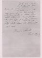 Bessie Smith Letter