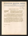 """Publications. Bulletins, 1918-1960. """"""""Colored Workers"""""""" Bulletins, circa, 1945-1950. March 1944 - September 1944. (Box 55, Folder 22)"""