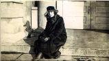 Unidentified women on steps