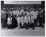BROTHERS--FIFTY YEARS OR MORE / OMEGA PSI PHI / JUNE 6, 1991. [Black-and-white photoprint.]