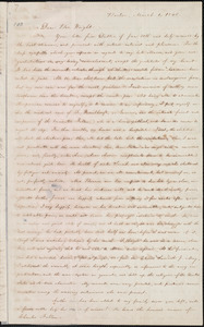 Letter from William Lloyd Garrison, Boston, [Mass.], to Henry Clarke Wright, March 1, 1843